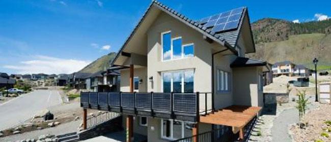 Equilibrium Green Home, Kamloops, BC