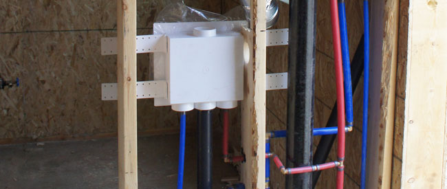 Whistler SIPS Panelled Home Pex system