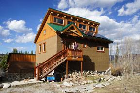 Frisco Rasta Block built home