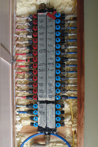 Pex system in eco home