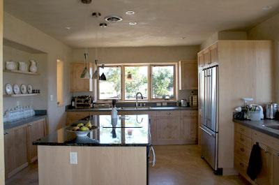 santa fe econest kitchen