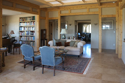 santa fe econest living room