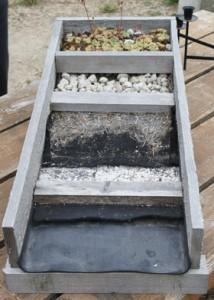 living roof materials